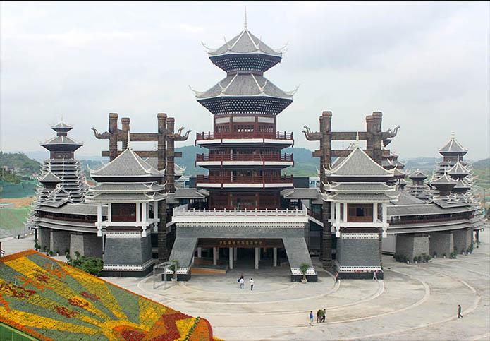 2015贵州多彩贵州城文化展示中心