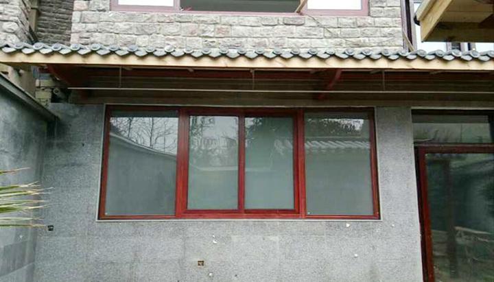 钢木结构雨棚