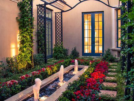 欧式风格庭院设计作品