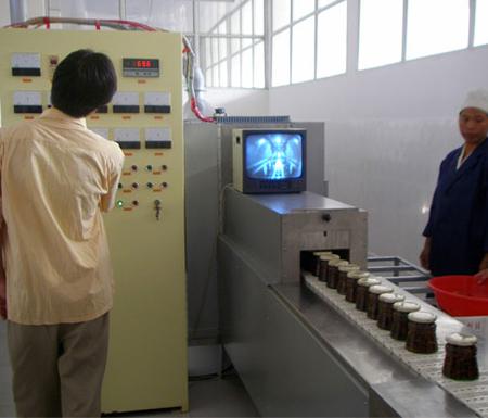 瓶装食品微波灭菌机