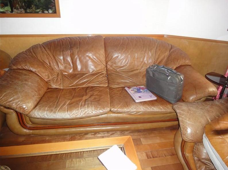沙發拋光上油8