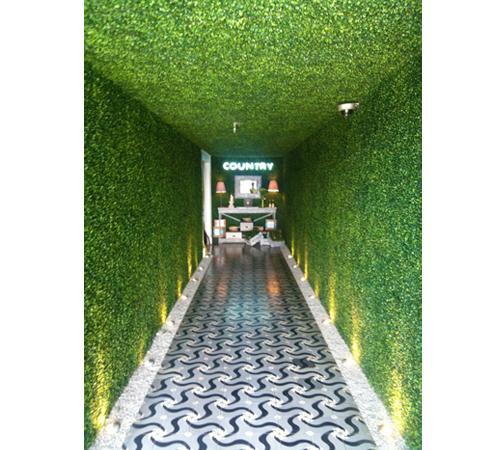 仿真植物背景墙