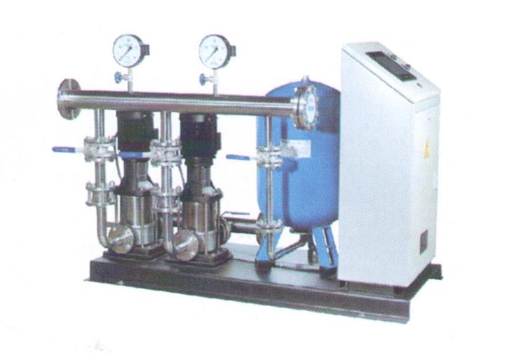 YQG变频调速恒压供水设备 两台立式泵供水设备(一用一备)